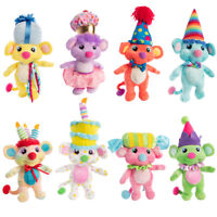 Birthdaykins Plush Stuffed Animals Birthday Land Kids Toys Party Supplies Favors