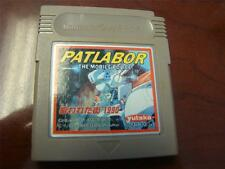 Nintendo Gameboy Patlabor The Mobil Police Japan Import Game Cart Only