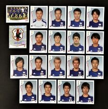 Panini FIFA World Cup Brazil 2014 Complete Team Japan + Foil Badge