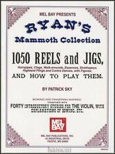 Ryan's Mammoth Collection 1050 Reels & Jigs Violin Sheet Music Book