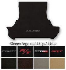 Dodge Challenger Velourtex Carpet Trunk Mat- Choice of Carpet Color & Logo