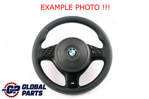 BMW 3 Series E46 NEW Leather M-Sport Thick Steering Wheel M-tricolored Threads