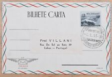 MayfairStamps Mozambique 1953 to Lisbon Portugal Used Stationery Aerogramme wwm5