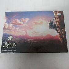 The Legend of Zelda Breath of the Wild 1000 Piece Premium Puzzle NEW