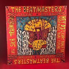 "THE BEATMASTERS  Hey DJ I Can't Dance To That Music You're Playing 12"" Vinyl"