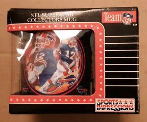 NFL BUFFALO BILLS Jim Kelly Superstar Collectors Mug 1993 Sports Impressions