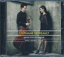 Stephane Tetreault CD NEW Marie Eve Scrfone Haydn Schubert Brahms