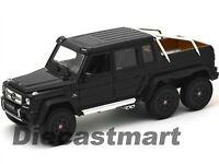 WELLY 1:24 MERCEDES BENZ 2014 G63 AMG 6X6 DIECAST MODEL CAR BLACK 24061 NEW