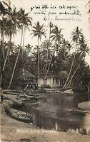 POSTCARD  SINGAPORE  TANJONG  KATON    Circa  1923  RP