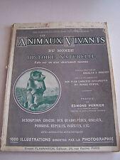 LES ANIMAUX VIVANTS DU MONDE , HISTOIRE NATURELLE VOL 5 SUR 24 .