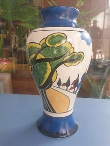WEDGWOOD CLARICE CLIFF MAY AVENUE MEIPING VASE LTD ED