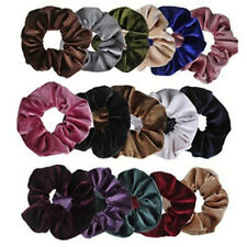 25f25f22294 36 Pcs Velvet Elastic Hair Bands Scrunchy For Women Or Girls Hair  Accessories