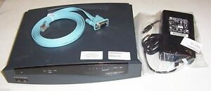 Cisco 800 / 837 ADSL modem /router/ 4x 10/100 switch 48/12MB 12.3(2) - qty aval