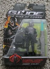 G.I. JOE DESERT AMBUSH VIPER COMMANDO RISE OF COBRA RARE ROC 25TH ANNIVERSARY