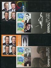 Australien Australia 2009 Schauspieler Kino Cinema Actors Block 93-96  im Folder