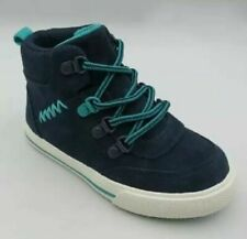 Cat & Jack Toddler Boys Andreas Casual Sneakers SZ 9 Navy Blue NEW