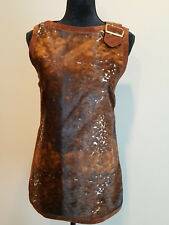 Womens Fur vest Francesca for Demon Made in Italy Size 6