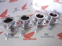 Honda CB 750 Four K0 K1-K2-K6 Auspuff Krümmer Flansch Schrauben Set orig. flange
