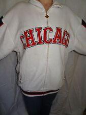 Chicago American Giants Negro Leagues Baseball Museum Zip-up White Sweatshirt XL