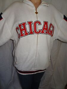 Chicago American Giants Negro Leagues Baseball Museum Zip-up White Sweatshirt XL