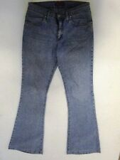 Indian Rose  Jeans Hose Schlaghose Hellblau Stonewashed W28 L34