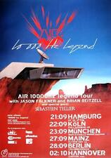 """AIR TOUR POSTER / KONZERTPLAKAT """"10000 HZ LEGEND"""""""