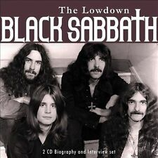 Black Sabbath:The Lowdown - Biography And Interview  2012-Sony-2 CD Set-New