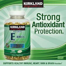 Kirkland Signature Vitamin E -  500 softgels - 400 IU  - NEW