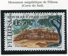 STAMP / TIMBRE FRANCE OBLITERE N° 2401 MONUMENT DE FILITOSA