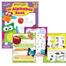 My Alphabet Book Wipe Off Educational Activity Book (Owl-Stars)