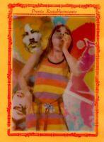 Beatles 1968 Vintage Avedon Rare Greeting Card Lenticular 3D Postcard NM/M COA