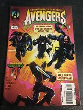 """Avengers#392 Incredible Condition 8.5(1995) Wyman Art""""Crossing"""""""