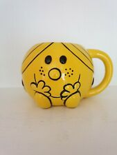 Little Miss Sunshine 3D ceramic mug Mr Men THOIP SANRIO 2013 Roger Hargreaves