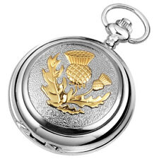 Harrison Brothers & Howson Woodford Hunter Pocket Watch Celtic Thistle 1907 New