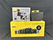Nikon Coolpix A900 silber, digitale Kompaktkamera, 21,14 Megapixel, CMOS