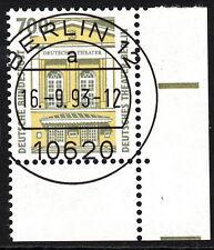 51) Bund SWK 1691 700 Pf FN 0 Ecke E4 EST Berlin 12 mit Gummi Typ II RARITÄT