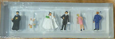 Preiser N #79057 Wedding Group -- Protestant (160th Scale)