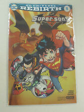 2017 ECCC SUPER SONS #1 EXCLUSIVE DC REBIRTH FOIL COVER VARIANT VF/NM - SEALED!