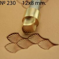 Leather stamp tool for leather crafting crafts brass Dragon scale stamps #230