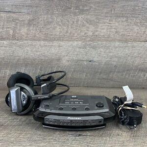 Pioneer SE-DIR800C Cordless Dolby 5.1 Surround Headphone TRE-D800 + SE-DHP800