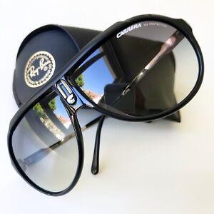vintage CARRERA 5512 Endurance black silver sunglasses Ultrasight MIAMI VICE