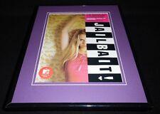 Jailbait 2000 MTV Framed 11x14 ORIGINAL Vintage Advertisement Alycia Purrott