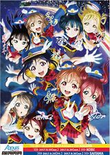 NEW LOVE LIVE SUNSHINE AQOURS 2ND TOUR LIMITED POSTER ON AUTOGRAPH ANIME IDOL