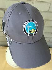 Crowsnest Pincher Creek Landfill Canada Baseball Cap Hat Grizzley Bear Tractor