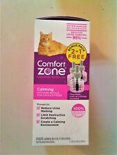 Comfort Zone Calming Cat Diffuser Triple Refill (3 Count) - Upc: 039079002738