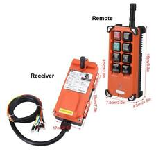 Transmitter & Receiver Hoist Crane Radio Industrial Wireless Remote Control 24v
