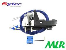 SYTEC TWIN WEBER CARBS THROTTLE CABLE LINKAGE KIT 40 45 DCOE TWIN 40S 45S HR
