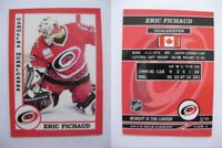 2015 SCA Eric Fichaud Carolina Hurricanes goalie never issued produced #d/10
