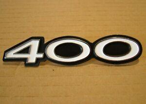 400 SIDE COVER BADGE for KAWASAKI S3400 , S3A 1975 BRAND NEW Metal Emblem KS61
