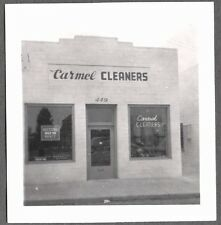 VINTAGE 1945-1950 CARMEL CALIFORNIA CARMEL DRY CLEANERS BUSINESS BUILDING PHOTO